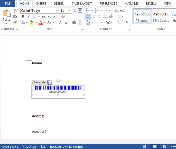 New method get alias, tag and id of content controls in a Word document in C#