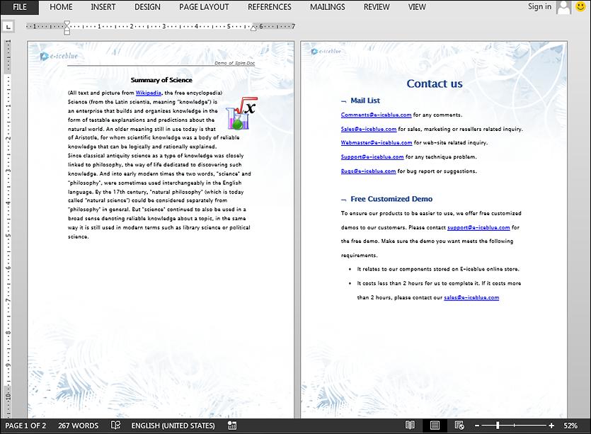 Merge Word Documents in Java