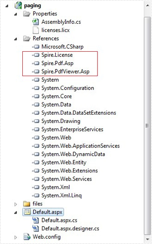How to realize paging with Spire.PDFViewer for ASP.NET