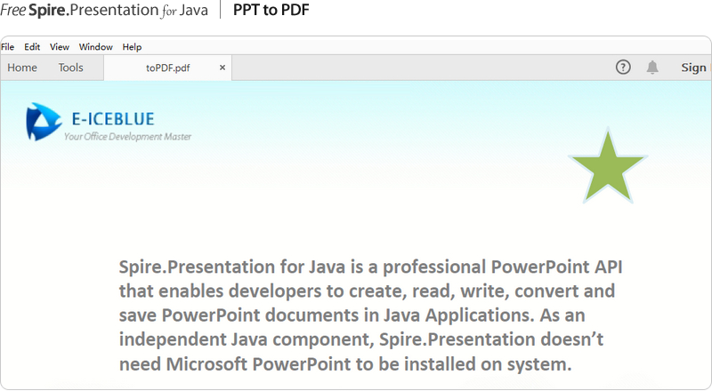 Free Java PowerPoint Library - Developing PowerPoint in Java