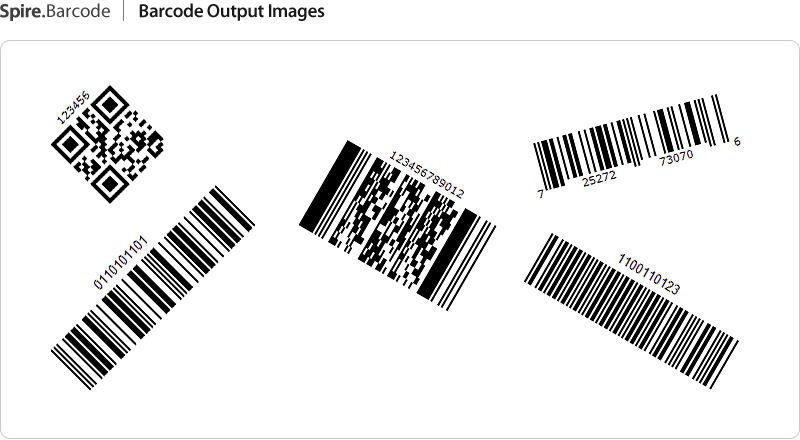 Free  NET Barcode Component - Generate, Read and Scan 1D 2D