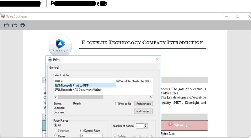 Windows 7 Spire.DocViewer for .NET 1.7 full