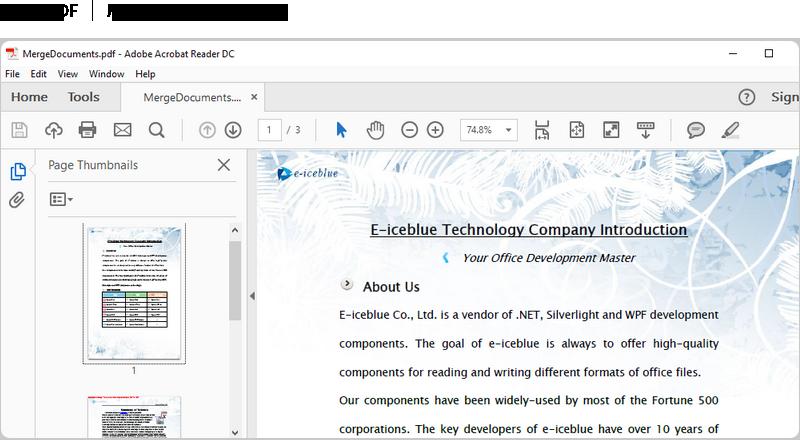 Professional WPF API - Read/Write/Modify PDF document wth