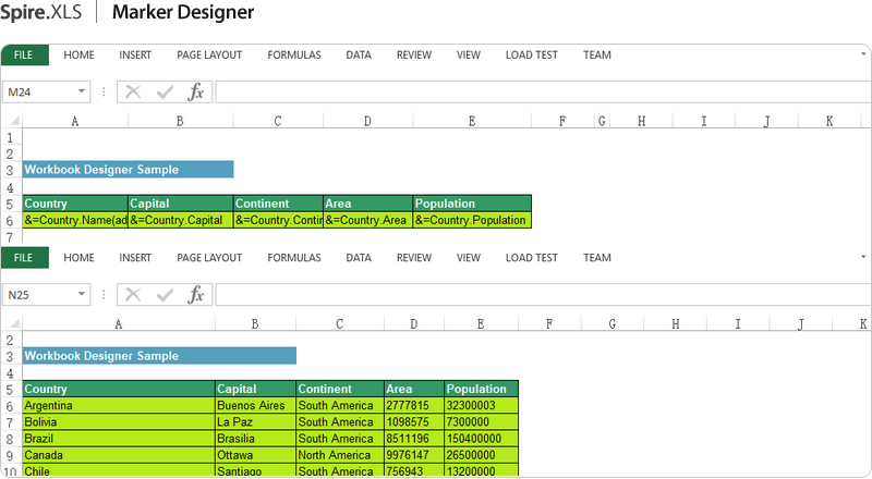 NET Excel Component - Developing Excel in C#, VB NET, ASP