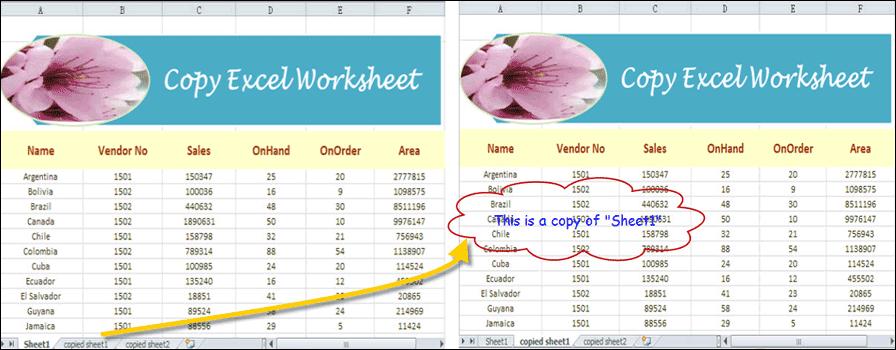 Copy Worksheet in Excel in C#, VB.NET