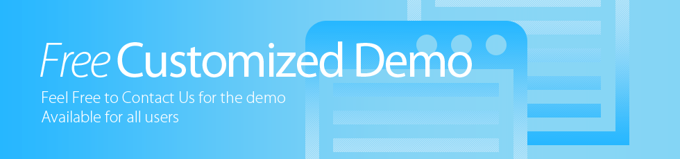 Free Customized Demo