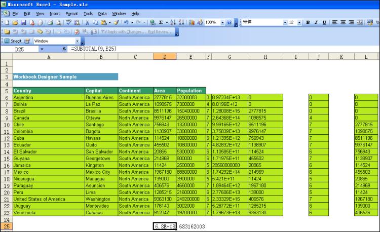 Excel Marker Designer