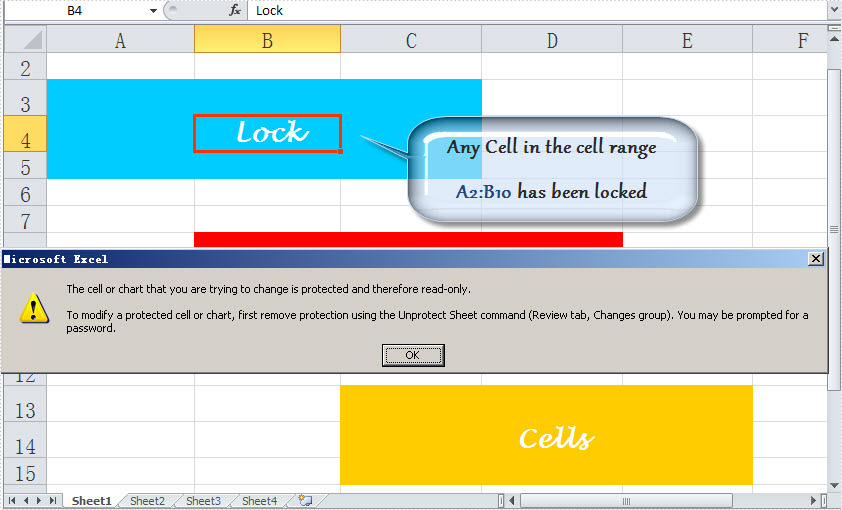 Lock Excel Cell Or Cells In C Vb. Additional Info. Worksheet. Worksheet Range Text At Clickcart.co
