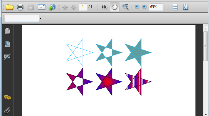Draw Special Shapes in PDF