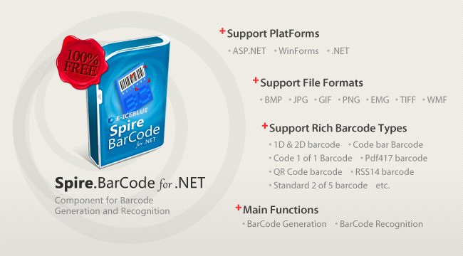 Free BarCode API for  NET - CodePlex Archive