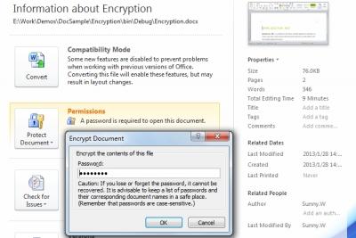 Encrypt Word